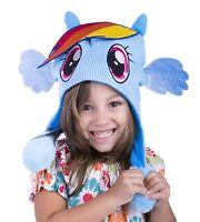 My Little Pony Flipeez Hat Rainbow Dash Squeeze Wings Kids Winter Hat Toboggan