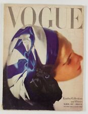 Lee Miller RICHARD RUTLEDGE Anthony Gilbert JILL BACON Vogue magazine March 1947