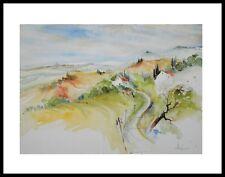 E. Hofmann Toscana bei Montepulciano Poster Bild Kunstdruck & Alu Rahmen 60x80cm