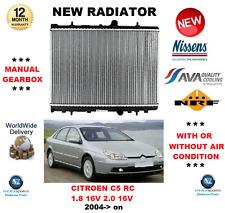 für Citroen C5 RC 1.8 2.0 16V 2004- > auf Motor Kühlung Kühler OE-Qualität