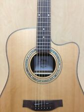 Martin Klema K300DCCE Dreadnought Cutaway Acoustic Guitar with Bag