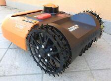 Kit 2 RUOTE ARTIGLIATE HIGH GRIP ROBOT WORX LANDROID WA0950 WR141 WR142 WR143