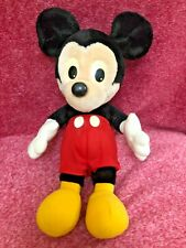 Mickey Mouse 1987 Soft Toy 15""