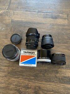 Misc camera Lens Adaptor Extender Lot