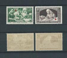 CROIX ROUGE - 1940 YT 459 à 460 - TIMBRES NEUFS** LUXE - COTE 28,00 €