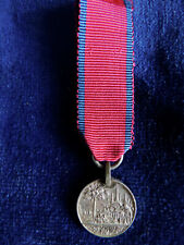 Genuine Miniature Army of India: The Burma Medal 1824-1826 - very rare.
