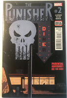 Marvel Comics The Punisher 2 Cloonan 2016 VF Condition!!