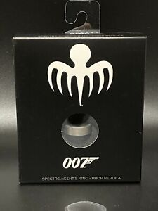 "JAMES BOND 007 ""SPECTRE AGENT RING"" Prop Replica NEW IN BOX"