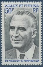 WALLIS ET FUTUNA N°189** Président Pompidou TB, 1975 MNH