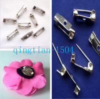 50PCS Metal Safety Pins Hand Sewing Clothing Jewellery Finding