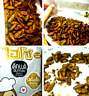 Crispy Small Crickets Thai Snack Hiso Original Flavor High Protein Edible Insect