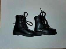Volks Black Msd Bjd Doll Boots