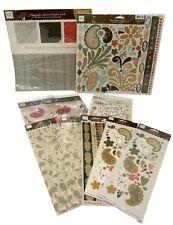 Bulk Lot #40 Heidi Grace Maple Crest Ct. Paper Stickers Die-Cuts total 646 pcs