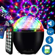 Muster Laserlicht DJ Magic Ball Projektor Disco RGB LED Beleuchtung Home Party