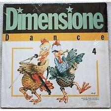 Dimensione dance 4 - JOVANOTTI FABER CUCCHETTI LP VINYL 1987 VG+ / VG+ CONDITION
