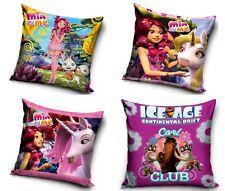 Mia and me Kissen Ice Age Kissenbezug Bezug 40x40 Kissenhülle Bettwäsche Mädchen