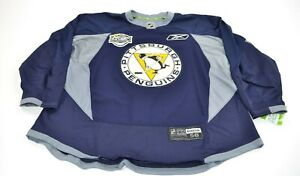 Pro Stock Team Issued Reebok 2011 Winter Classic Pittsburgh Penguins Jersey 58