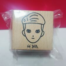 EXO EXO-K SEHUN SM Town Coex Artium SUM Official RUBBER STAMP From Gacha Machine