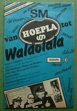 FLUXUS: Wim T. Schippers, 1978: Hoepla - Waldolala; television works, Stedelijk