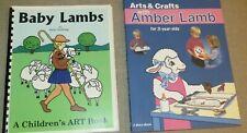 Baby Lambs Barry Stebbing Arts & Crafts Amber Lamb A Beka Book Homeschool Books