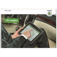 Skoda Serviceheft Serviceplan 2013 Fabia 5J Octavia Yeti Superb Citigo Deutsch
