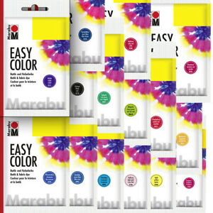 Marabu Batikfarbe Kleider Färbe Farbe EasyColor 25g Textilfarbe neu