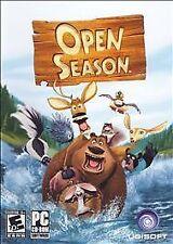 OPEN SEASON UBISoft Kids Cartoon PC Game NEW in BOX
