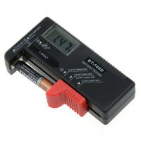 Testeur de Piles Batteries / Numérique / Ecran Digital / 1.5V 9V AA AAA Bouton