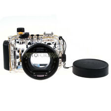 40M Waterproof Underwater Housing Hard Case Bag for Canon Powershot S100 Black
