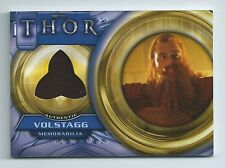 UD Thor the Movie F10 (c) Volstagg costume card dark felt