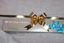 Box of 100 Metallic Gold Pull Bows/Gift Wrap Bow/Christmas/decoration/Wedding