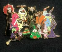 Disney Nightmare Before Christmas Unforgettable Characters Pin LE 500 Cluster