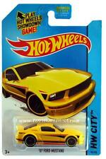 2015 Hot Wheels #94 Hw City Mustang 2007 Ford Mustang Kmart Exclusive