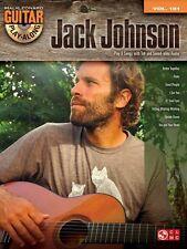 Jack Johnson Sheet Music Guitar Play-Along Book and CD NEW 000129854