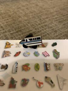WDW Tiny Kingdom Series 3 Monorail LR Disney Pin