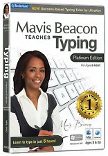 Mavis Beacon Teaches Typing Platino Edición (PC/Mac) NUEVO PRECINTADO