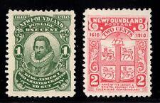 #87iii-88  Newfoundland Canada mint  well centered  #87iii (NFW) variety