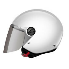 CASCO HELMET JET KIDS OF575 WUBY JUNIOR GLOSS WHITE LS2 SIZE L