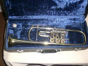 Trompete Barock in B mit Tonausgleich Ø ca.9,5 cm!!!!!Gravur FINKE.Beulenfrei!!!