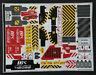 LEGO Sticker Sheet For Technic Set 42082 Rough Terrain Crane - Stickers