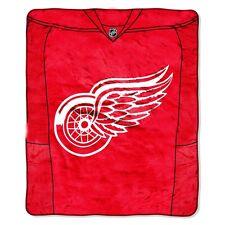 Detroit Red Wings blanket bedding 50x60 PLUSH FREE SHIPPING NHL hockey throw