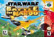 Star Wars Episode 1: Battle for Naboo N64 New Nintendo 64