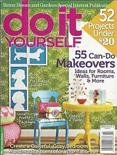 Do It Yourself magazine Makeovers Rooms Furniture Walls Budget projects Accents
