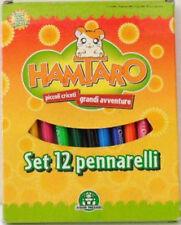 HAMTARO 12 colori a pennarello GIOCHI PREZIOSI