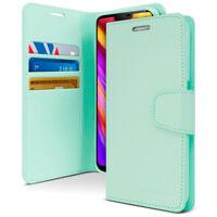 For LG V50 40 G7+ ThinQ Shockproof Slim Flip Wallet leather Case Kickstand cover