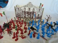 Classic Toy Soldiers ALAMO Fort, Soldiers, and accessories (54MM) 85 Pieces