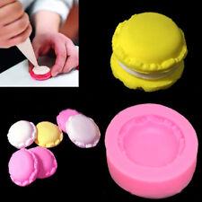 New listing 1Pc Silicone Macaron Shape Cake Fondant Mold Decor Baking Mould Sugar Craft Tool