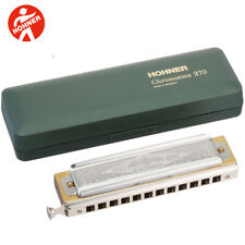 Hohner 270BX-BB Super Chromonica Professional Chromatic Harmonica BB with Case
