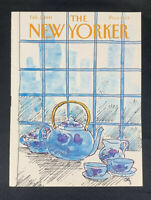 COVER ONLY ~ The New Yorker Magazine, February 9, 1981 ~ Arthur Getz