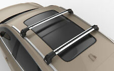 Turtle Silver Air V2 Roof Rack Cross Bar for Jeep Grand Cherokee WK2 2011 - 2020